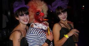 Pink Halloween Circus