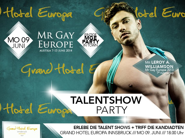 Mr Gay Europe Talentshow