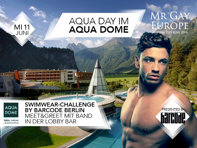 Mr Gay Europe Aqua Day