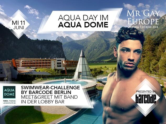 Mr Gay Europe Aqua Day