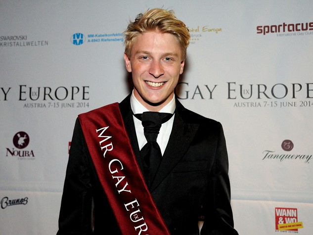 Mr Gay Europe 2014 Sieger