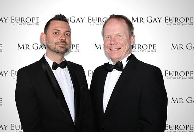Dieter Sapper Vize-Präsident Mr Gay Europe